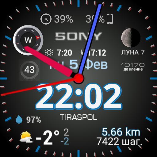 Digital Watch tiras3300