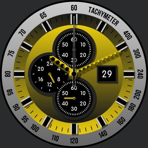 Diver Tachymeter uColor