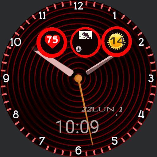 Untitled watch contador pasos, tiempo, analgico, digital, corazn tiempo de calor y fro, y lluvia