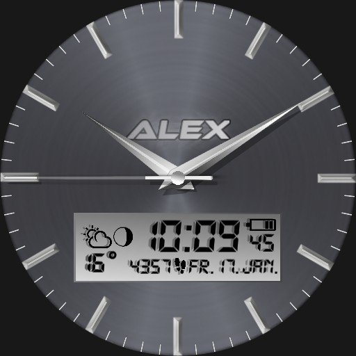 Alex Gradient Real 3D Steel