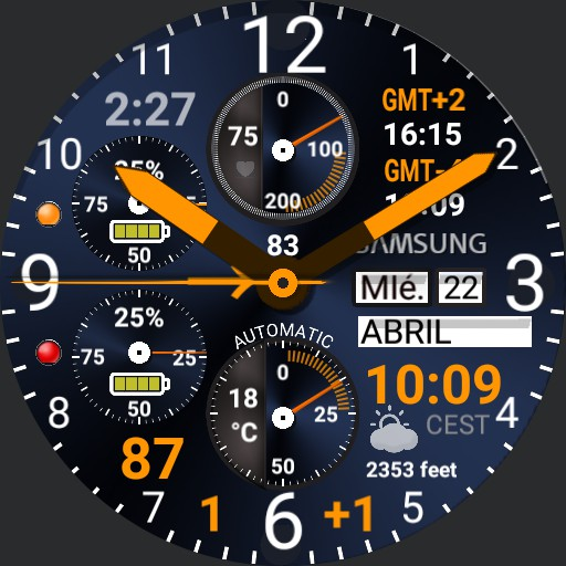 Complicated watch Apr20