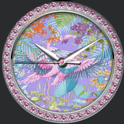 pink diamonds  birds