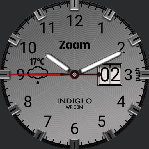 Custom INDIGLO WATCH