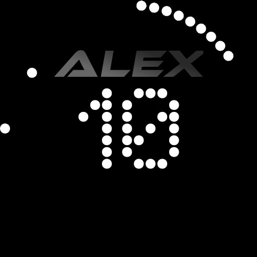 Alex Simple Dot Watch