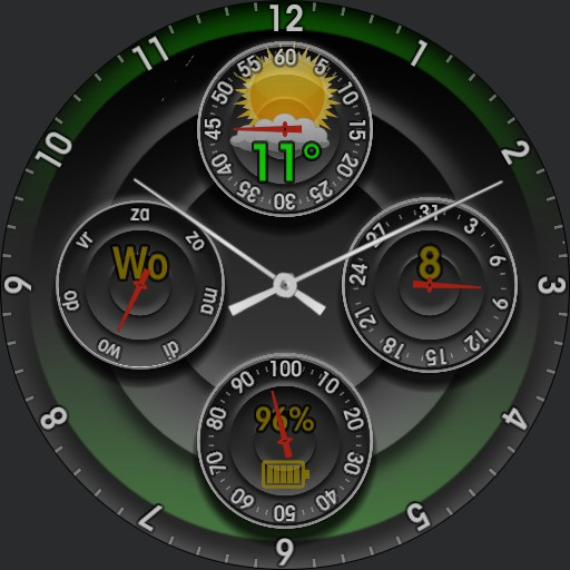 Analog watch  v2.0