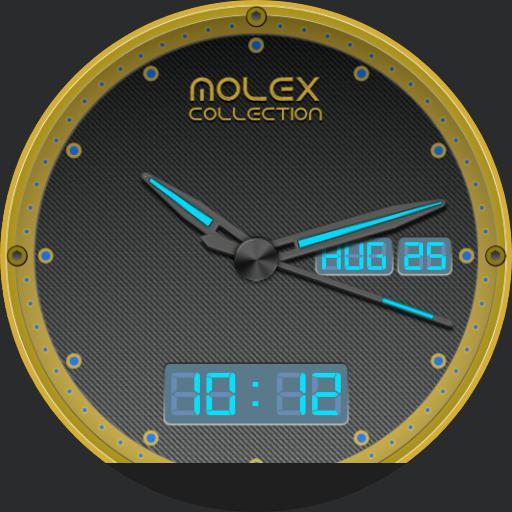 molex collection 002 gold