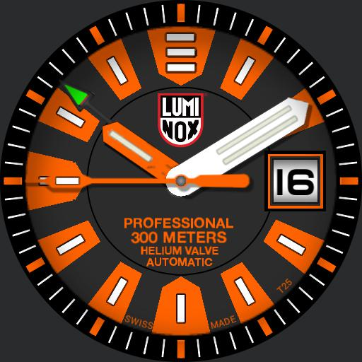 luminox deep dive series 1500