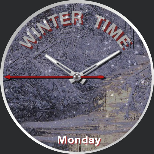 its winter time