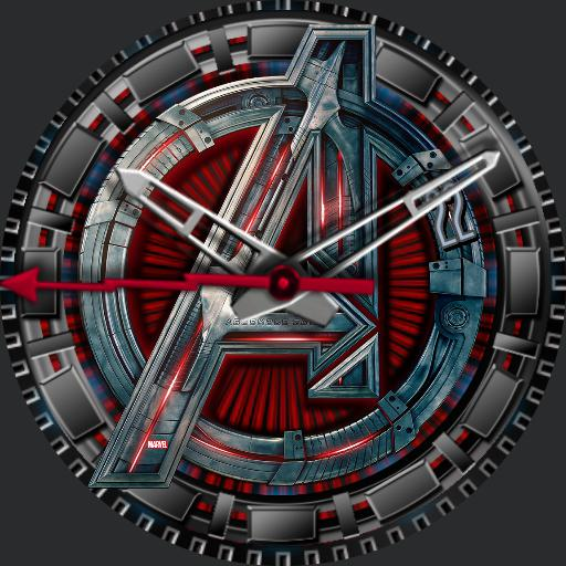 Avengers Insignia Red Steel JBAIRS270219
