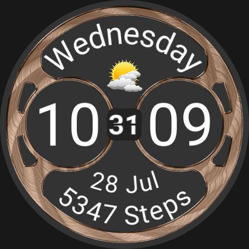 Big, weather, steps, date