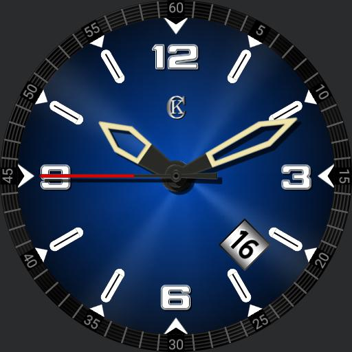 Big and bold themeable sport watch with date