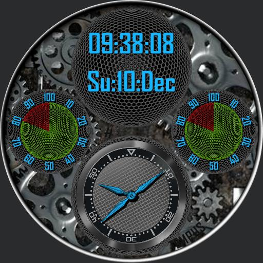 TEMPUS 2. 4 Face clockwork edition.