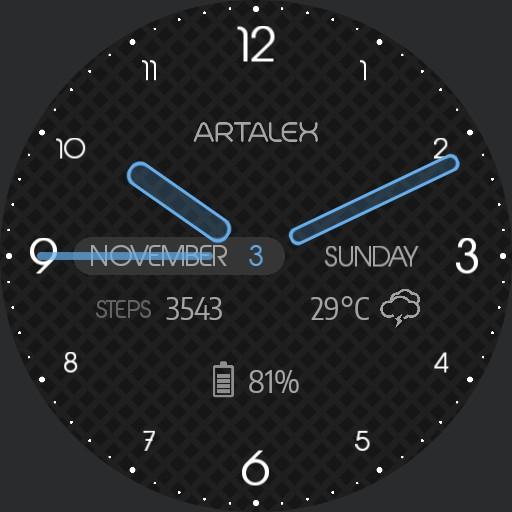 ARTALEX Simple Code II Saphire