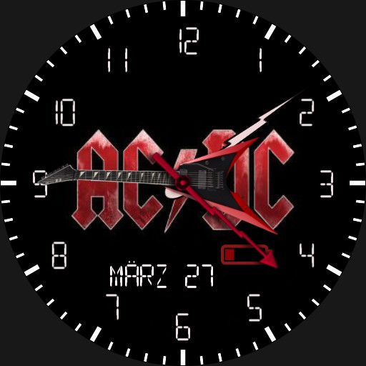 ACDC WATCHFACE by Marklo