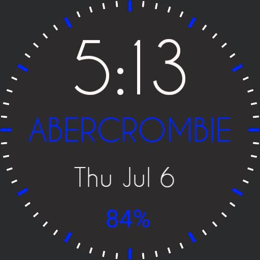 ABERCROMBIE BLUE