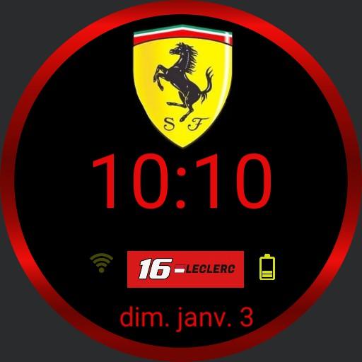 Ferrari Leclerc Copy