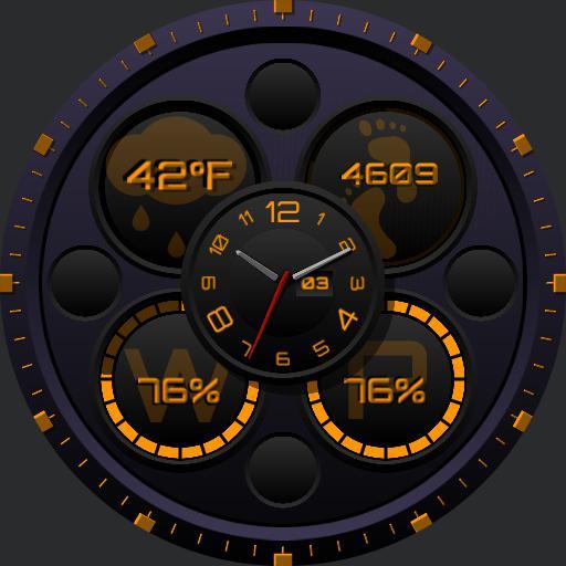 Ucolor Analog Digital Black Purple