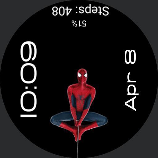 Reversed - Superhero - Spiderman