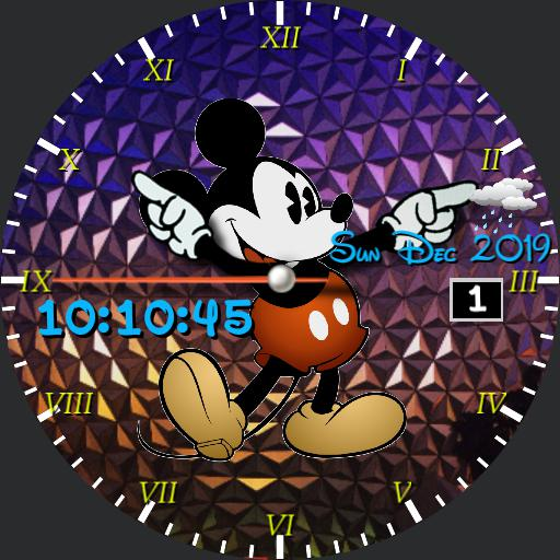 Mickey Mouse Epcot Christmas
