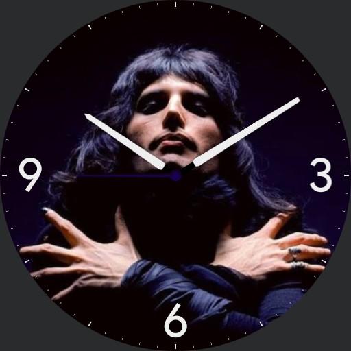 Freddie Mercury analog Black