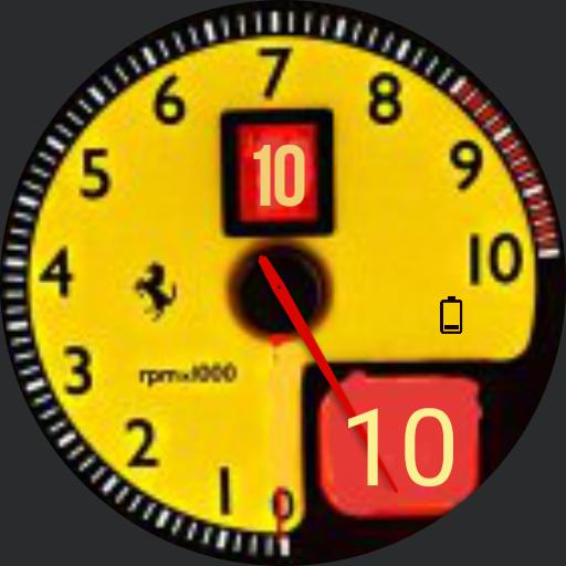 Ferrari speedometer