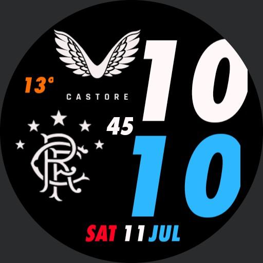 Rangers Castore 2021