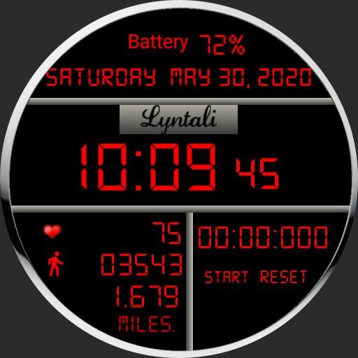 Lyntali Lovely Red LED 2