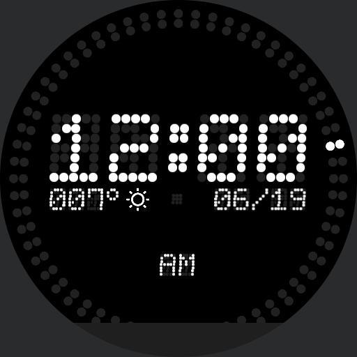 LED Farenheit / 12hrs