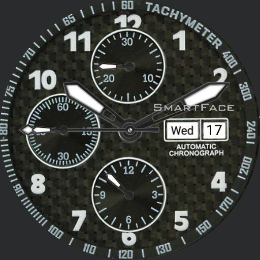 SmartFace Automatic Chronograph