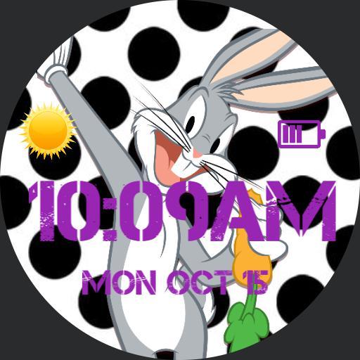 Bugs Bunny polka dots