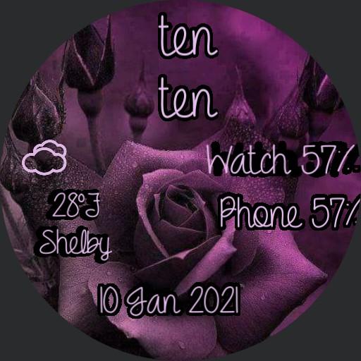 antique purple flower 3 by geri Copy
