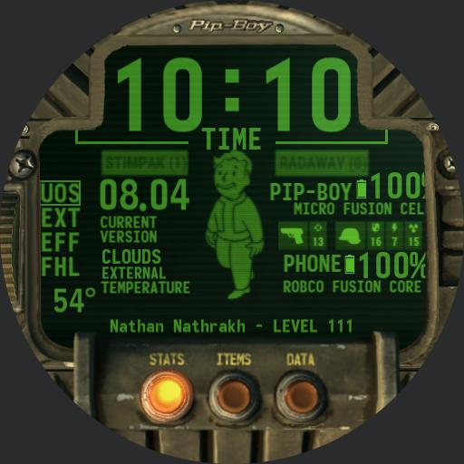 Pipboy 2018 with menus and sounds Copy