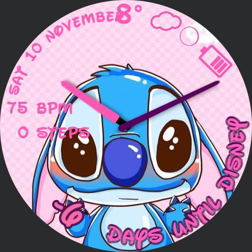 Countdown to Disney stitch