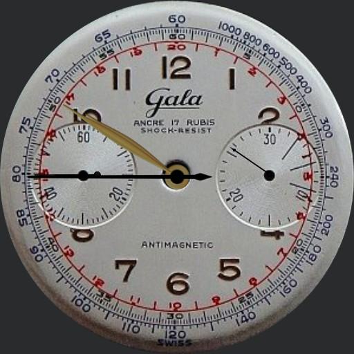 gala ancre 17 rubis shock resist antimagnetic
