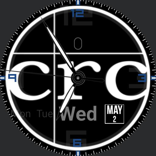 CRC simple watch
