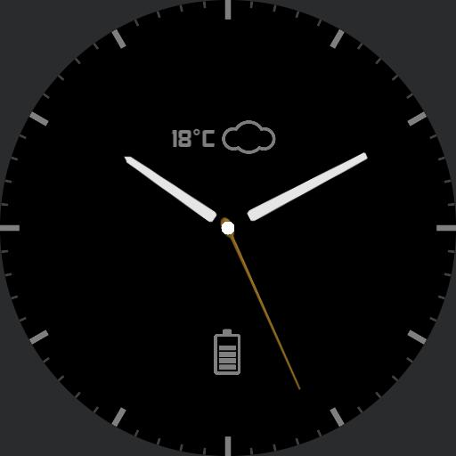 material clock
