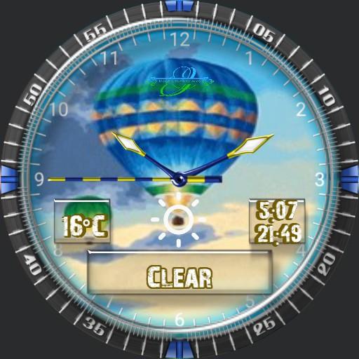Wetterballon Animation