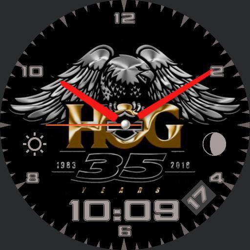 Harley-Davidson HOG 35 year
