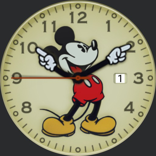 mickey old