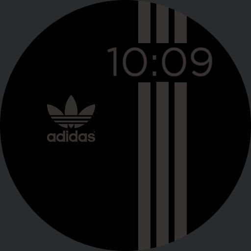 Adidas Black Grey