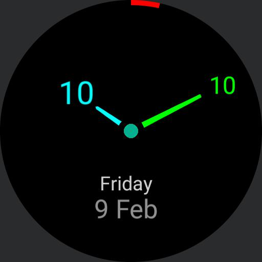 Screen Saver Clock Day date Copy