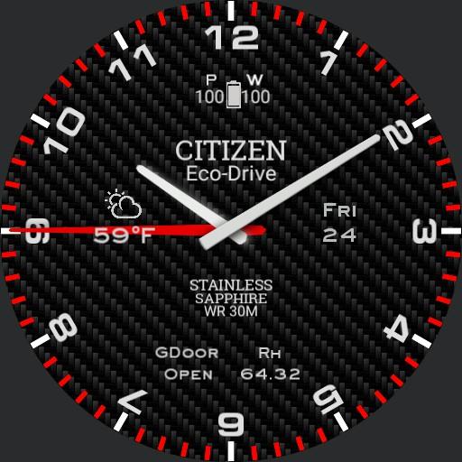 Citizen Sport Carbon Copy
