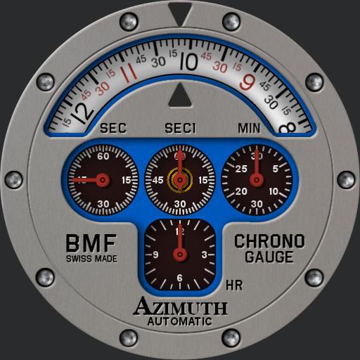 Azimuth Mecha-1 Chrono Gauge BMF