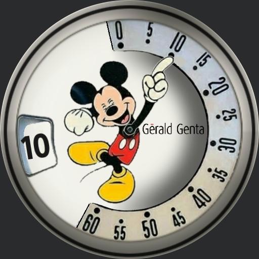 Mickey Mouse Gerald Genta M.10