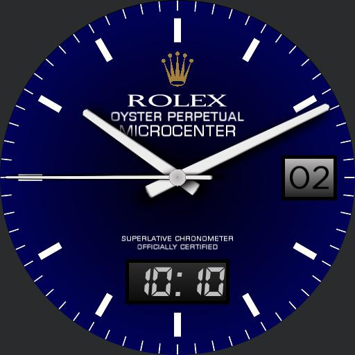 Oyster Perpetual Royal Blue Microcenter