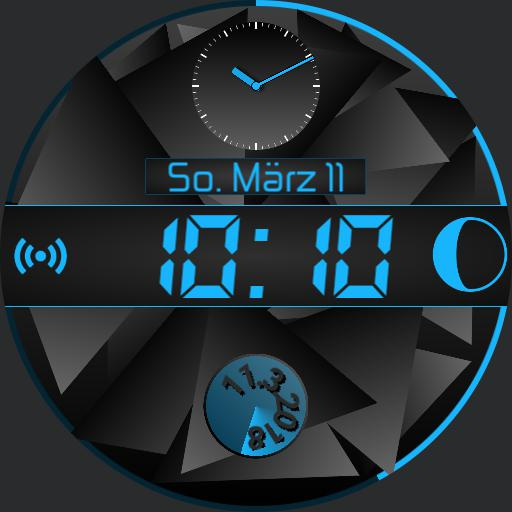 Mide - Effective Steel and Compact Watchface