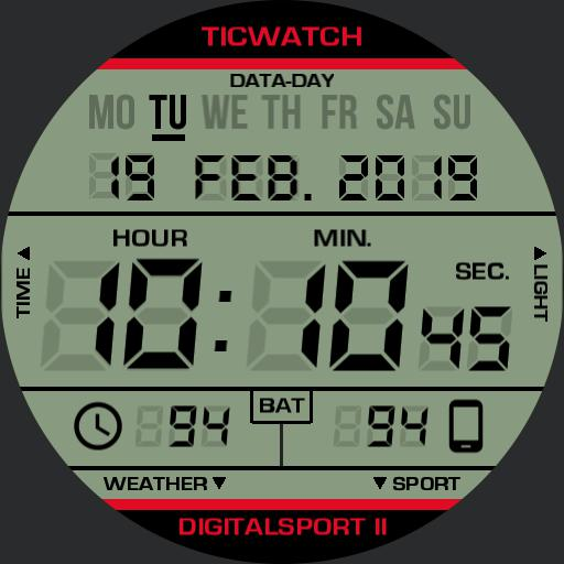 TICWATCH DIGITALSPORT II