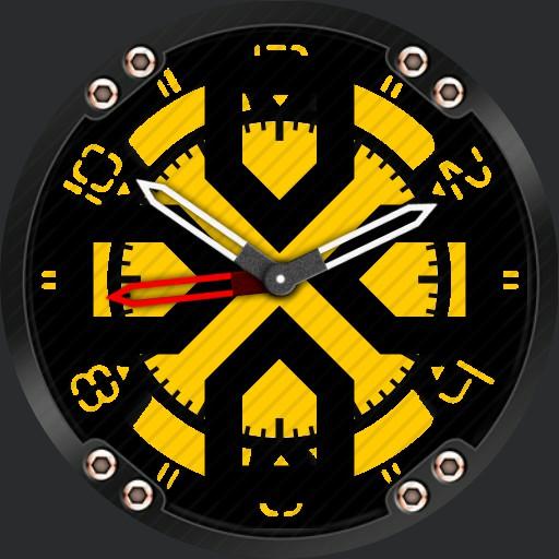 kaleidoscope blk/yellow