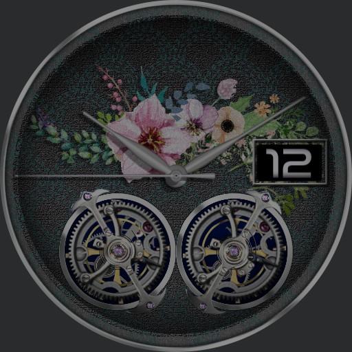 Floral Tourbillon Ucolor