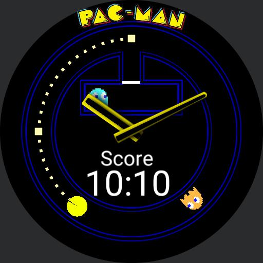 Pac-man Watch face